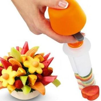 Creative DIY Fruit Press Shape Cutter