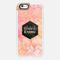 Make It Happen iPhone 6s case by Elisabeth Fredriksson | Casetify