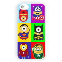 Despicable Minion Serial Super Hero For iPhone 5 / 5S / 5C Case