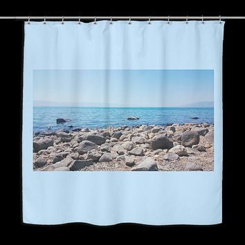 Shower Curtain - The Sea of Galilee