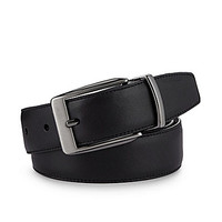 Roundtree & Yorke Casual Reversible Belt - Black