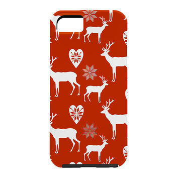 Natt Christmas Deer Cell Phone Case