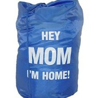 Hey Mom I'm Home Laundry Bag - High School graduation gag gift girls dorm room stuff guys dorm room stuff  dorm stuff college supplies