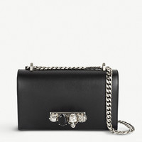 ALEXANDER MCQUEEN Jewelled Satchel leather shoulder bag