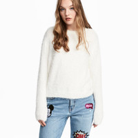 H&M Fluffy Sweater $12.99