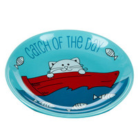 Whisker City® Catch Of The Day Cat Saucer | Food & Water Bowls | PetSmart
