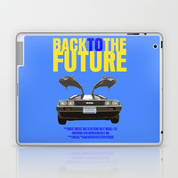 Back To The Future Laptop & iPad Skin by FunnyFaceArt