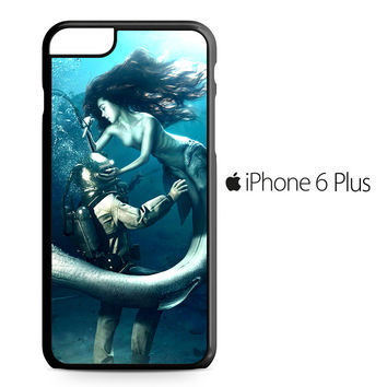 Diver and The Mermaid iPhone 6/6S Plus Case