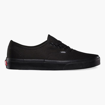 Vans Authentic Mens Shoes Black/Black  In Sizes