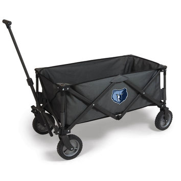 Memphis Grizzlies - 'Adventure Wagon' Folding Utility Wagon by Picnic Time (Dark Grey)