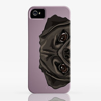 Peekaboo Pug  - Phone/Tablet Case