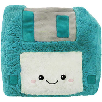 Fuzzy Memories Floppy Disk: An Adorable Fuzzy Plush to Snurfle and Squeeze!