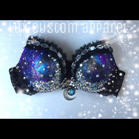 Some Nights Galaxy Rave Bra