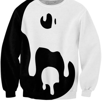 Big Drippy Yin Yang Sweatshirt *Ready to Ship*