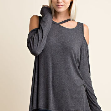 Winery Tour Top - Charcoal