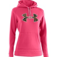 Under Armour Women's Fleece Tackle Twill Logo Hoodie