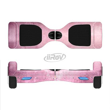 The Pink Grungy Surface Texture Full-Body Skin Set for the Smart Drifting SuperCharged iiRov HoverBoard