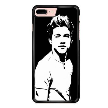 Niall Horan Popart Black White iPhone 7 Plus Case