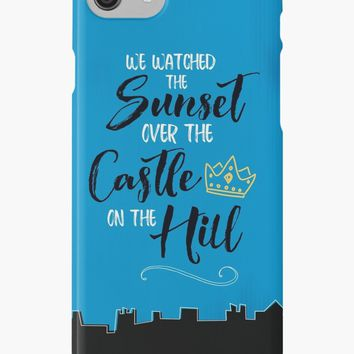 'Over The Castle on The Hill' iPhone Case/Skin by sheeranstyle