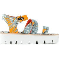 Msgm Palm Tree Print Sandals - Monti - Farfetch.com