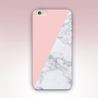 Pink Marble Print Phone Case For - iPhone 6 Case - iPhone 5 Case - iPhone 4 Case - Samsung S4 Case - iPhone 5C - Matte Case - Tough Case