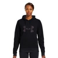 Under Armour Women's Armour Fleece Storm Pulse Big Logo Hoodie