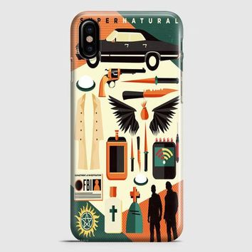 Supernatural Inspired Quote iPhone X Case