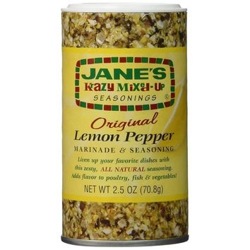 Jane's Krazy Marinade - Lemon Pepper - 2.5 Oz (Minimum Quantity: 3)