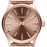 Women's Nixon 'Sentry' Bracelet Watch, 38mm - Rose Gold