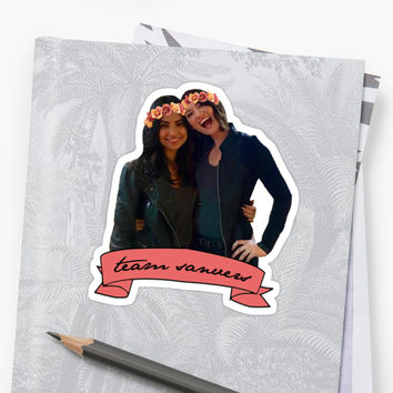 'Team Sanvers' Sticker by domiellis