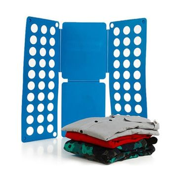 HOT Clothes Laundry Child Folder T Shirts Dress Pants Flip Folding Folder Board Organizer Fast Speed Save Time Kid Cloth Only