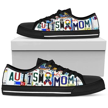 Autism Mom Low Top Shoes