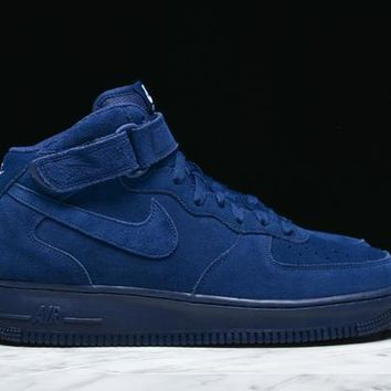 AIR FORCE 1 MID '07 - BINARY BLUE