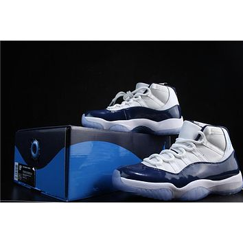 "Air Jordan 11 Retro ""UNC"" Basketball Shoe"