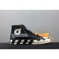 Off-White x Converse All-Star Black 2.0 #1638**C