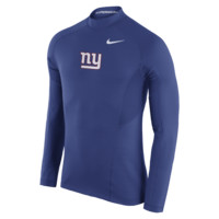 Nike Pro Hyperwarm Max Fitted (NFL Giants) Men's Training Top
