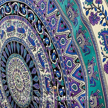 Elephant Tapestries, Large Size Tapestry Wall Hanging, Mandala Tapestry, Bohemian Tapestries, Wall Tapestries, Dorm Decor