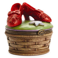 Wizard Of Oz Jim Shore Ruby Slipper Treasure Box