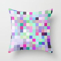 Pixelated No.2 Throw Pillow by House of Jennifer
