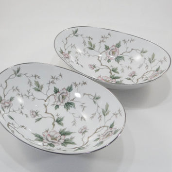 Vintage Noritake Serving Bowls in Chatham Pattern