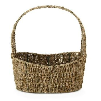 Large Woven Sea Grass Easter Basket