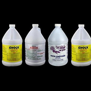 By PoolCentral Crystal-Aqua Swimming Pool Winter Closing Kit - Shock Conditioner & Algaecide