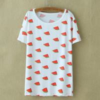 Vintage Women's fruit shirt