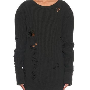 Distressed military wool sweater | Yeezy Season 1 | MATCHESFASHION.COM US