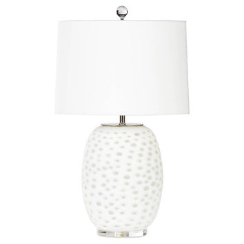 Athena Table Lamp, Alabaster, Table Lamps