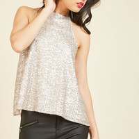 A Shiny Example Tank Top | Mod Retro Vintage Short Sleeve Shirts | ModCloth.com