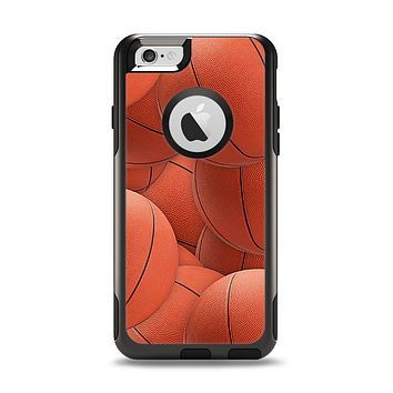 The Basketball Overlay Apple iPhone 6 Otterbox Commuter Case Skin Set