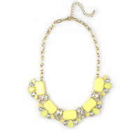 Yellow Lilly Necklace