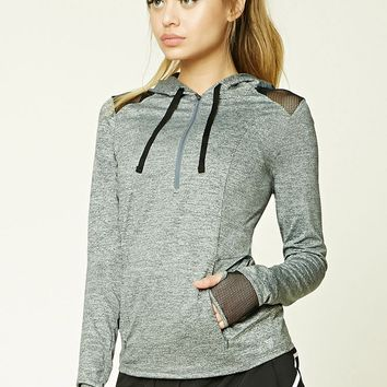 Active Marled Knit Pullover
