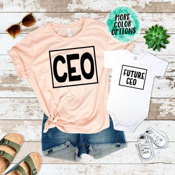 CEO, Future CEO Matching Tops